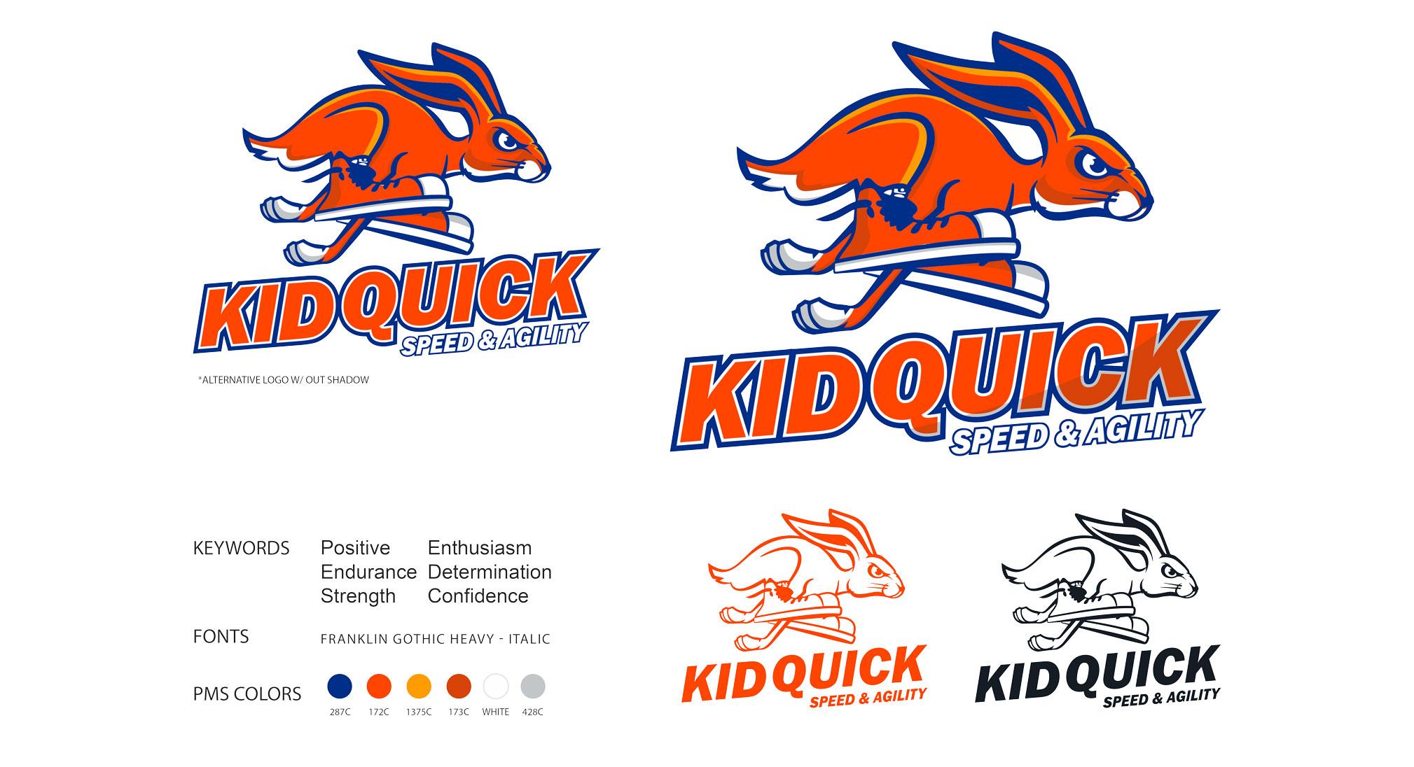 Kid Quick Logo Design